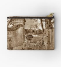 Historical Ruins on West Bay Street in Nassau, The Bahamas Studio Pouch