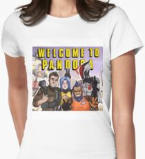 Welcome to Pandora! Women's Fitted T-Shirt