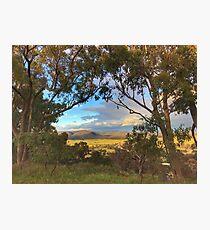 Cookbundoon Ranges Photographic Print