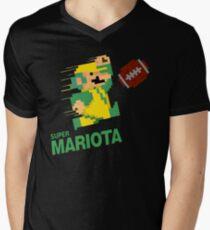Super Mariota Men's V-Neck T-Shirt