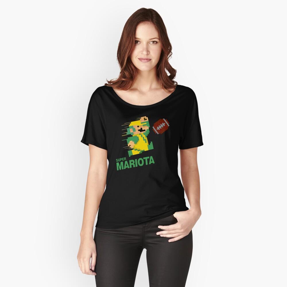 Super Mariota Women's Relaxed Fit T-Shirt Front