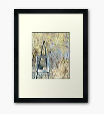 The Easel Framed Print