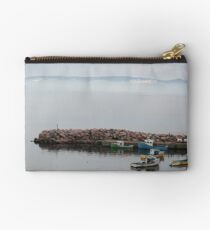 Foggy Morning in the Cove Studio Pouch