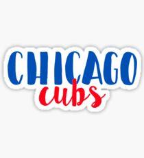 Chicago Cubs Sticker