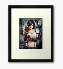 Tifa Lockhart FF7 Portrait Framed Print