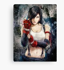 Tifa Lockhart FF7 Portrait Canvas Print