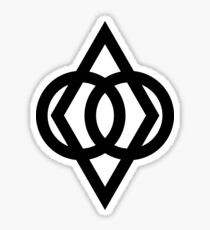 Protected (Black) Sticker