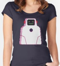 SUPERJAIL - Jailbot Women's Fitted Scoop T-Shirt