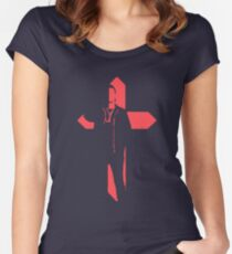 Starboy Cross Women's Fitted Scoop T-Shirt