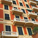 A Colourful Facade of Santa Margherita by Marilyn Harris