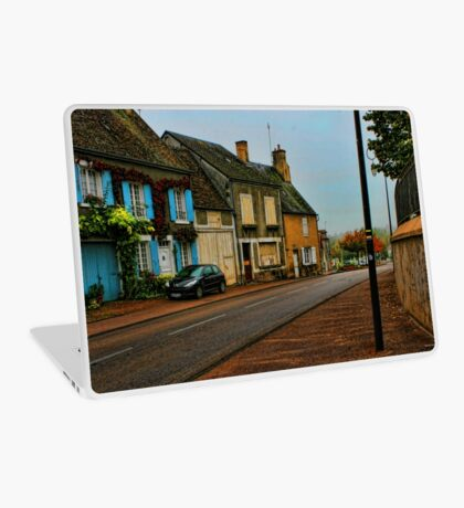 Country town Laptop Skin