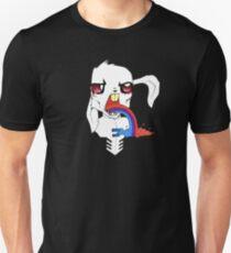 Rainbow Regurgitating Rabbit Unisex T-Shirt