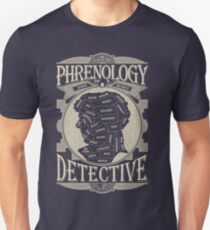 Phrenology of a detective - Sherlock T-Shirt