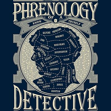 Phrenology of a detective - Sherlock by Lanfa