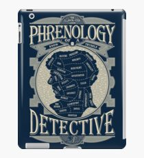 Phrenology of a detective - Sherlock iPad Case/Skin