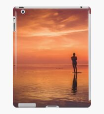 Standing on Sunsets iPad Case/Skin