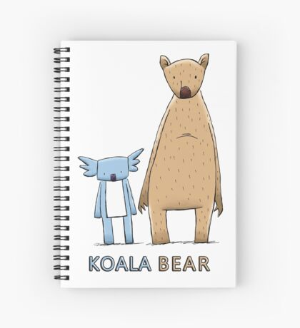 Cute Koala Bear Spiral Notebook
