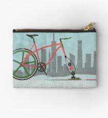 Urban Winter Cycling Studio Pouch