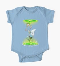 Rick and Morty (Portals) One Piece - Short Sleeve