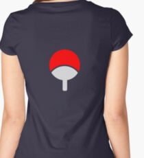 uchiha Women's Fitted Scoop T-Shirt