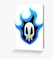 Ichigo skull  Greeting Card