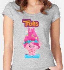 poppy from trolls Women's Fitted Scoop T-Shirt