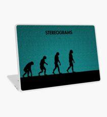 99 Steps of Progress - Stereograms Laptop Skin