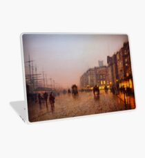 John Atkinson Grimshaw  Liverpool from Wapping (1885) Laptop Skin