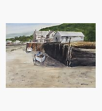 Low Tide at High Noon Photographic Print