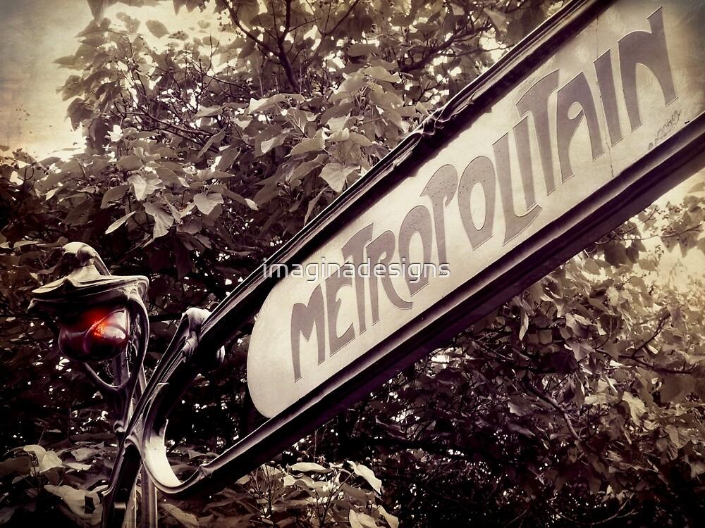 «Metropolitain Paris» de imaginadesigns