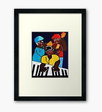 JAZZ SUNSHINE BAND Framed Print