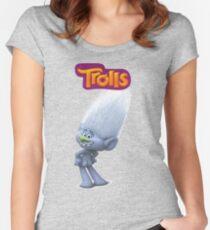 Guy Diamond of trolls Women's Fitted Scoop T-Shirt