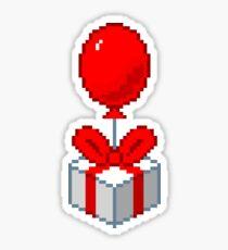 Animal Crossing Balloon Present Sticker