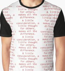 Eeyore - Winnie-The-Pooh Quote Graphic T-Shirt