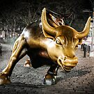 Wall Street Bull by Colin White