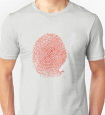 Dj fingerprint Unisex T-Shirt