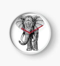 Ornate Elephant Clock