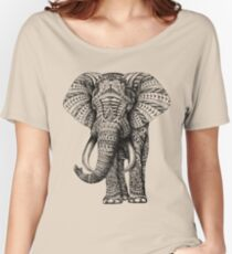 Ornate Elephant Women's Relaxed Fit T-Shirt