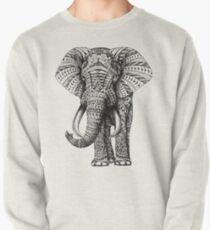 Ornate Elephant Pullover Sweatshirt