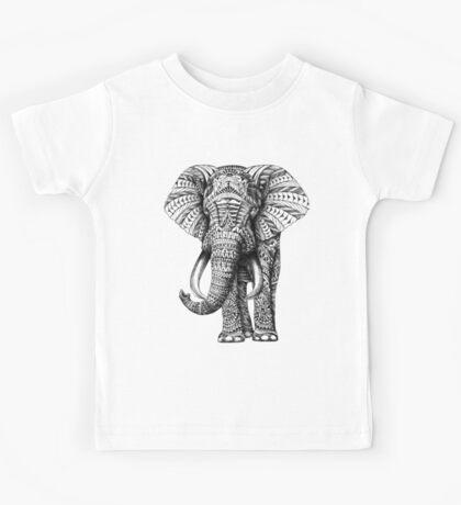 Ornate Elephant Kids Clothes