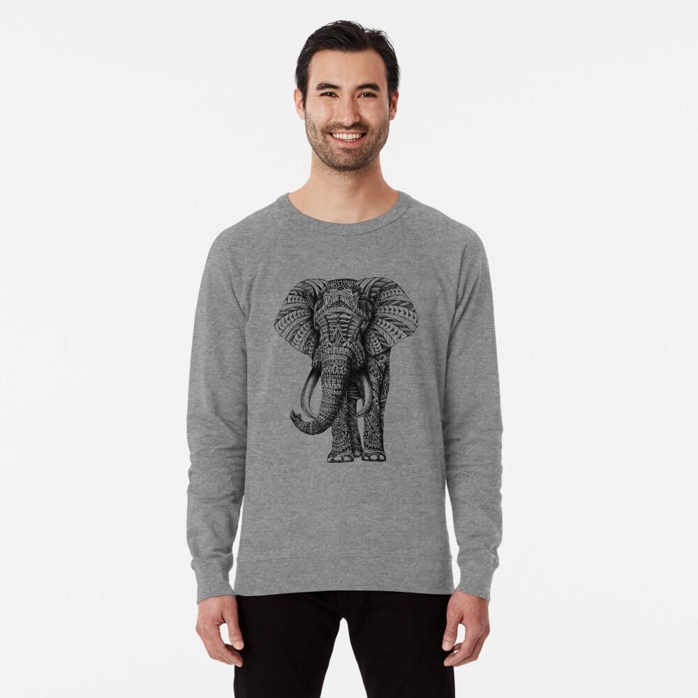 Elefante adornado Sudadera ligera