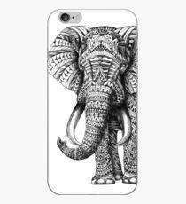 Vinilo o funda para iPhone Elefante adornado