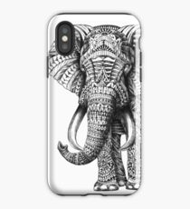 Verzierter Elefant iPhone-Hülle & Cover