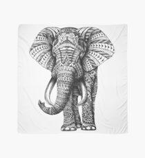 Verzierter Elefant Tuch
