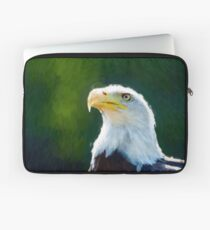 Beautiful Bald Eagle 2 Laptop Sleeve