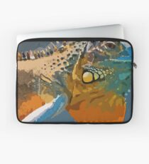 Amazing Iguana1 art Laptop Sleeve