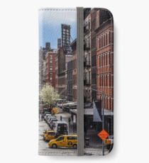 Walking up the High Line iPhone Wallet