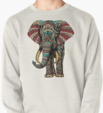 Ornate Elephant (Color Version) Pullover