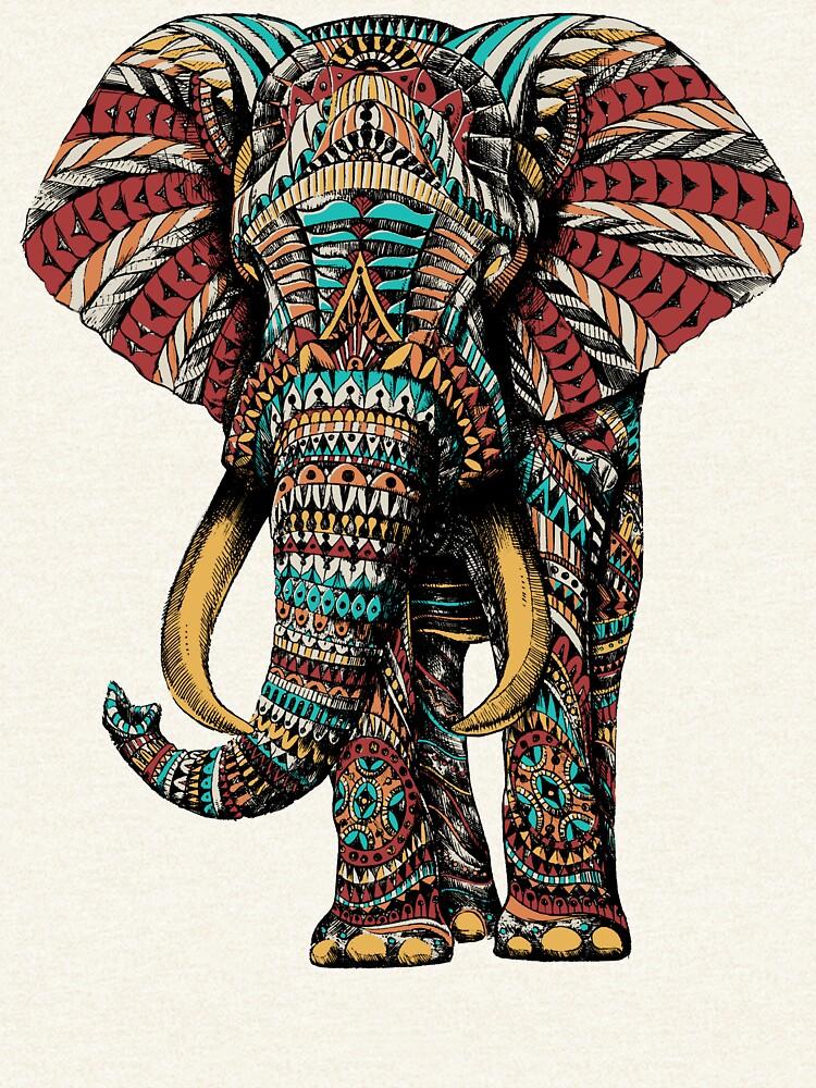 Ornate Elephant (Color Version) by BioWorkZ