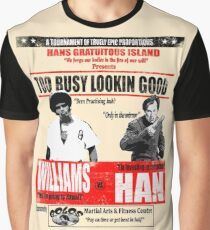 Enter the Dragon - Williams vs Han Graphic T-Shirt